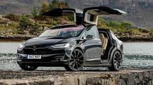 Khám phá chi tiết Tesla Model X bản P100D 16