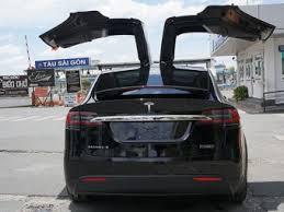 Khám phá chi tiết Tesla Model X bản P100D 9