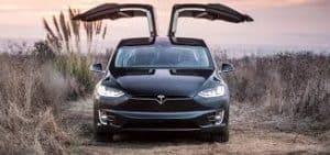 Khám phá chi tiết Tesla Model X bản P100D 19