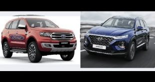 FORD EVEREST 2019 SO SANH HUYNDAI SANTAFE 2019