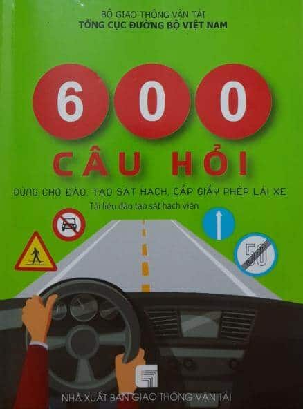 600 Theoretical Questions & Answers The Latest Car Driving Examination 2