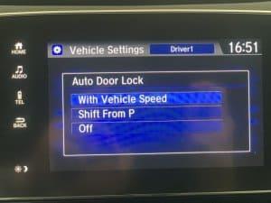 Hướng dẫn Cài đặt tính năng tự động khóa cửa khi ra khỏi xe