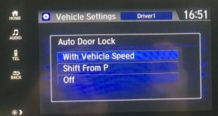 Hướng Dẫn Auto lock trên Honda CR-V và Honda Civic 8