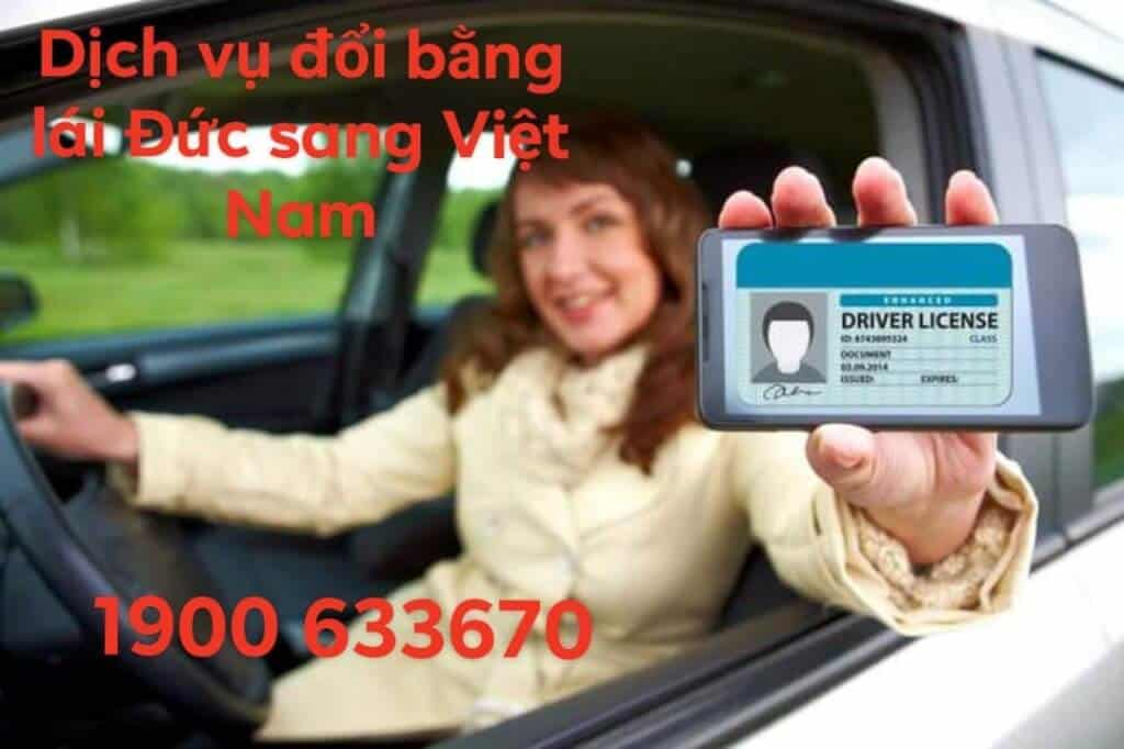 Reputable German Driver License Change Service to Vietnam 1