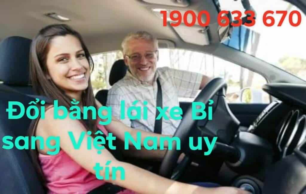 Change Belgian Driver's License to Vietnam