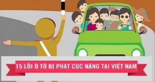 muc phat loi o to nao nang nhat 310x165 - Top 15 Lỗi Ô TÔ Có Mức Phạt Cao Nhất Ở Việt Nam