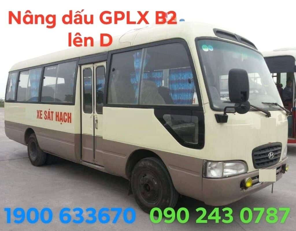 Lifting Service Marks GPLX Degree B2 to D reputation quickly in Ho Chi Minh City