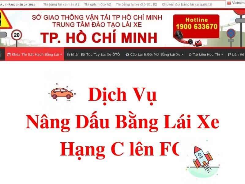 Dịch vụ Nâng Dấu Bằng C Lên FC