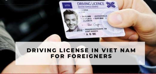 Change Of Driver's License For Foreigners In Vietnam 3