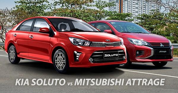 Chọn Mitsubishi Attrage hay Kia Soluto 400 triệu - Phân tích Ưu/Nhược điểm 1