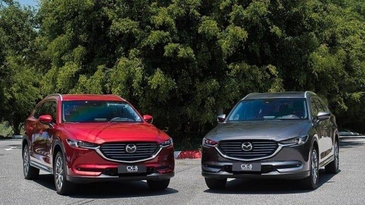 Mazda CX8 hay CRV