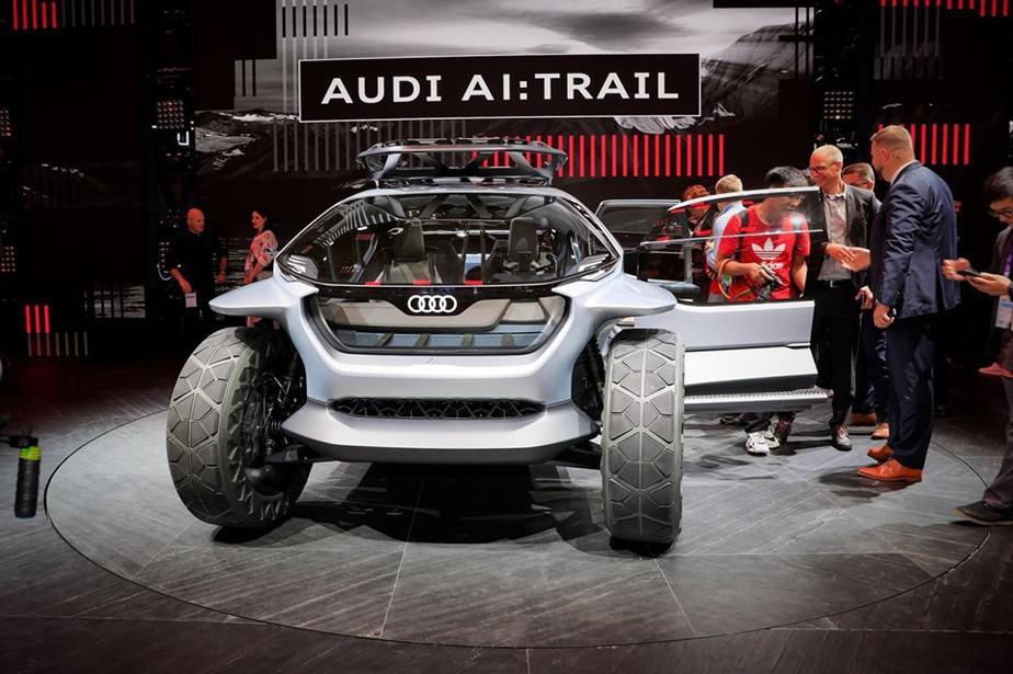 The Audi AI TRAIL
