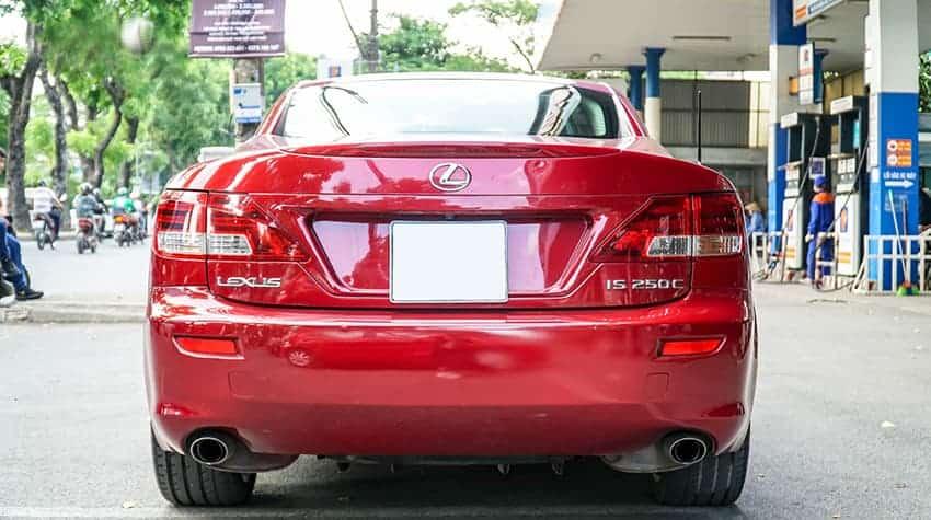 Hơn 1 Tỷ Có Ngay Mui Trần - Lexus IS250C 4