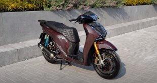 Độ Honda SH 150i Hết Hơn 500 Triệu - Phuộc Ducati V4S Dàn Vỏ Full Carbon 1