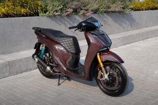 Độ Honda SH 150i Hết Hơn 500 Triệu - Phuộc Ducati V4S Dàn Vỏ Full Carbon 6