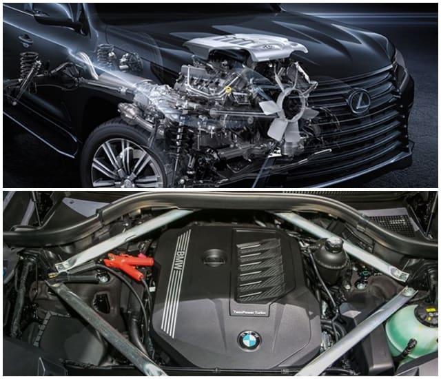 Lexus 570 vs BMW X7 - Bạn Chọn Xe Nào? 2