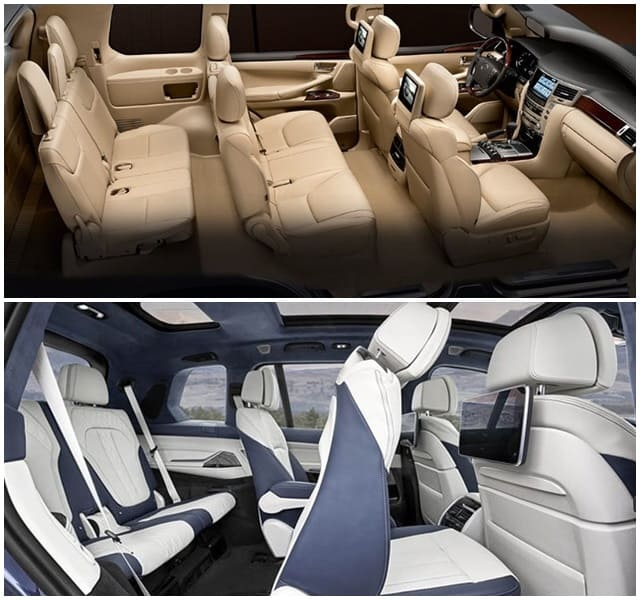 Lexus 570 vs BMW X7 - Bạn Chọn Xe Nào? 6
