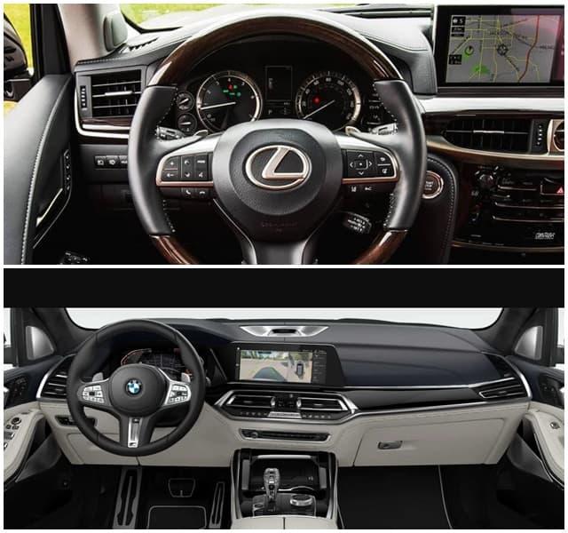 Lexus 570 vs BMW X7 - Bạn Chọn Xe Nào? 7