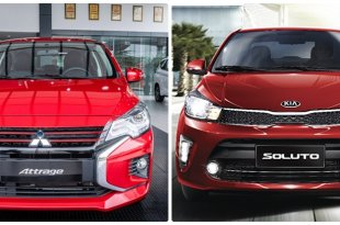 Mitsubishi Attrage 2020 và soluto