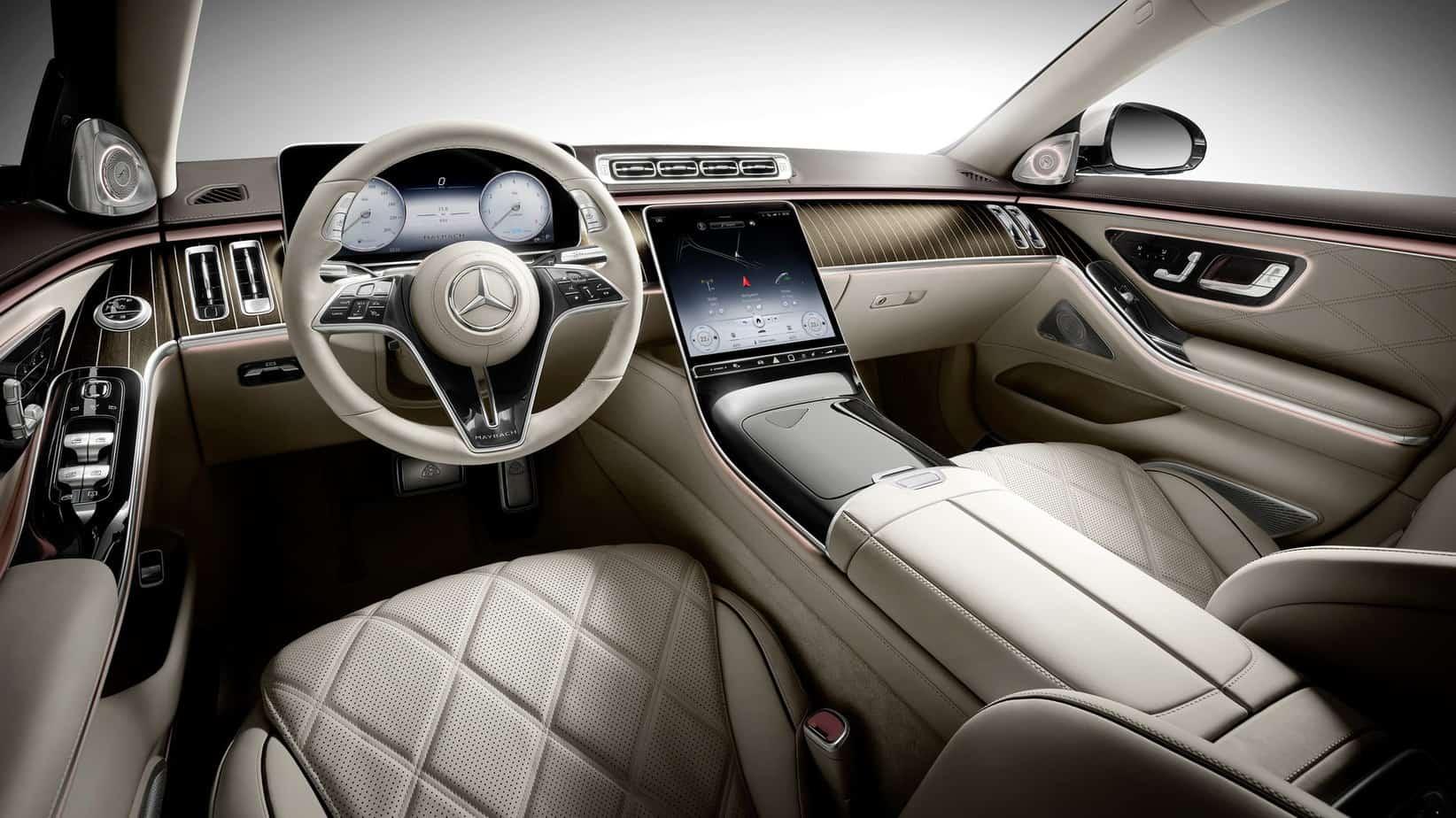 Mercedes-Maybach S-Class 2021