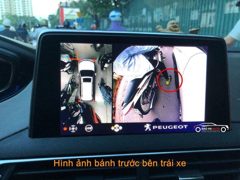 Hình ảnh bánh trước xe