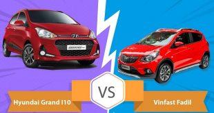 so sánh Vinfast Fadil và Hyundai I10