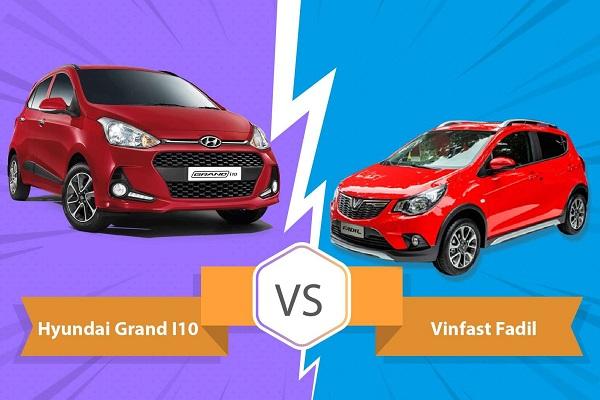 Vinfast Fadil và Hyundai I10