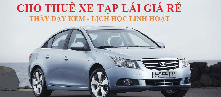 Dịch vụ cho thuê xe tập lái giá rẻ