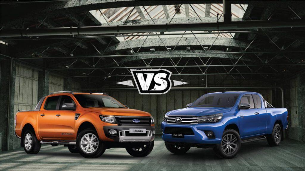 Ford Ranger vs Toyota Hilux, Cuộc Đối Đầu Đã Cân Hơn, và Vẫn Khó Chọn 1