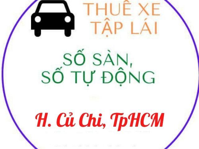 cho thuê xe tập lái huyện củ chi