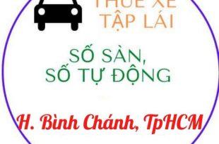 cho thuê xe tập lái tại huyện bình chánh HCM